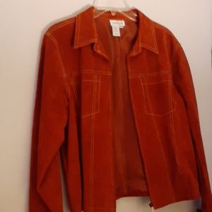rust color jacket